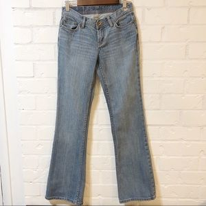 Express W10 Flare Leg Jeans